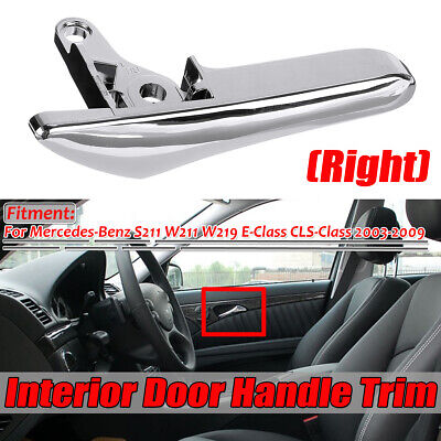 Front Rear Right Door Inner Chrome Handle Lever For Mercedes-Benz W211 E-Class • 14.57£