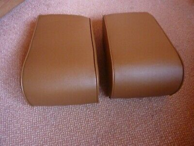 Rover P5B Coupe.   Rear Headrests.  Saddle Tan.  New.  • 275£