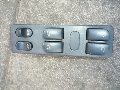 Saab 900 Convertible (94-98) 4 Way Window And Roof Master Control Switch 4232625 • 30£