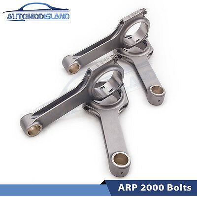 Connecting Rods Rod For Toyota Tercel Corolla 5E FE Conrods Con Rod 130.5mm AMI • 229£
