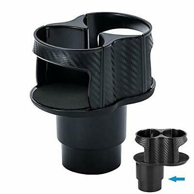 Heart Horse Car Center Console Dual Cup Holder Expander For Drinks,2 In 1 • 20.99£
