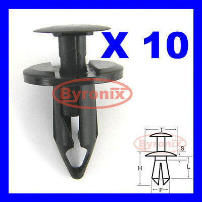 Land Rover Wheel Arch Clips Trim Liner Lining Fastener P38 Range Rover Discovery • 2.45£