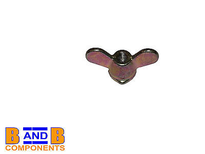 Vw T1 Beetle T2 Transporter Camper Van Clutch Cable Wing Nut 131721349 A377 • 2.95£
