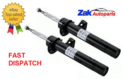 BMW 1 Series E81 E87 2 Front Shock Absorbers Shockers Dampers Pair NEW X2 • 64.98£
