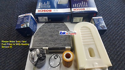 For Mercedes C220 2.2 Cdi W204 08> Oil/air/fuel/cabin Filter Service Kit Brand • 105.99£