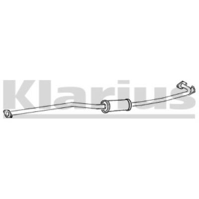 1x OE Quality Replacement PREMIUM EXHAUST X Trail 2.2 Middle Silencer Exhaust • 37.10£