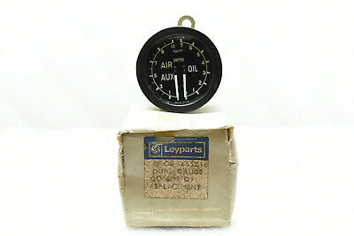 Smiths Dual Air Aux And Oil Gauge Leyparts GD1602/09 New Old Stock • 29.95£