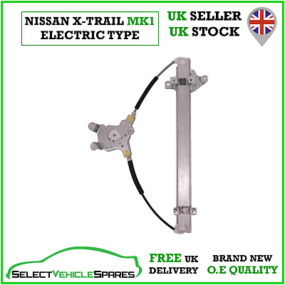 New Drivers Side Front Right Electric Window Regulator For Nissan X-trail 01-07 • 34.90£