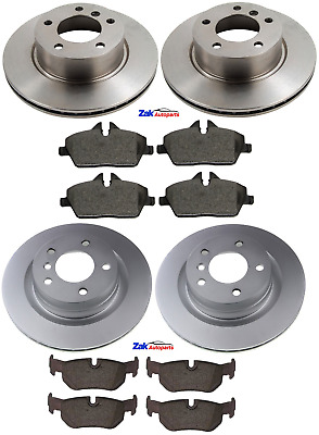 FOR BMW 1 SERIES E87 118d 1.6 1.8 2.0 04-12 FRONT & REAR BRAKE DISCS & PADS • 120.99£