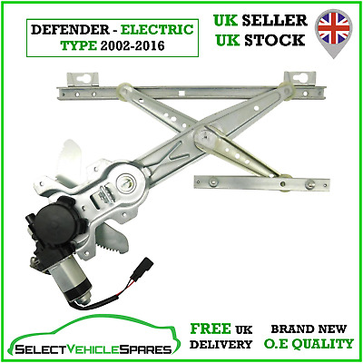 New Land Rover Defender Front Right Electric Window Regulator & Motor 2002-2016 • 42.90£