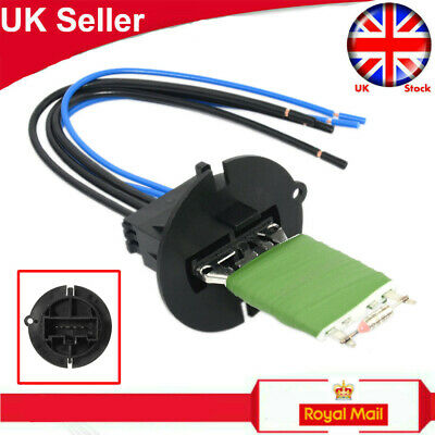 Peugeot 307 Heater Blower Motor Resistor & Wiring Loom Connector Repair Kit Uk • 11.39£