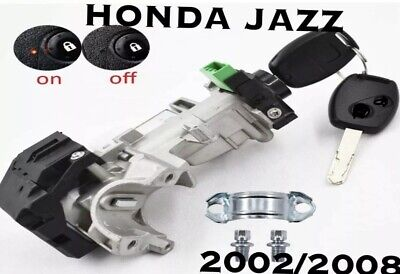 HONDA JAZZ IGNITION BARREL SWITCH AUTO & MANUAL Fit To 2002/2008 • 77£