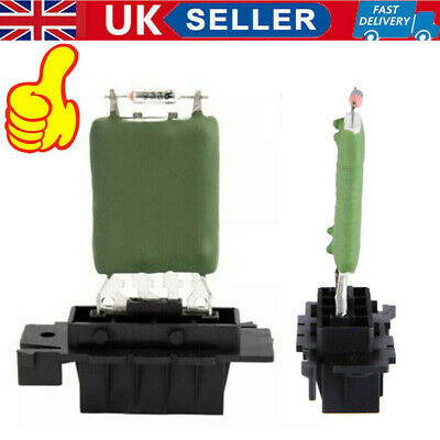 UK Vauxhall Corsa D Heater Resistor PREMIUM QUALITY Blower Cabin 13248240 • 4.98£
