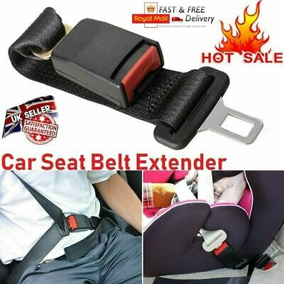 Universal Car Auto Safety Seat Belt Seatbelt Extender Extension Buckle Clip UK • 6.52£