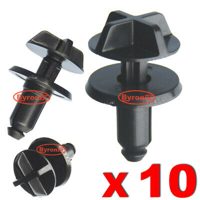 Range Rover Discovery Evoque Battery Cover Air Intake Trim Plastic Clips X 10 • 5.65£