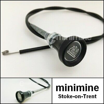 Classic Mini Heater Control Cable 42  Long For SPi JFF10051 Rover Cooper 1275 • 9£