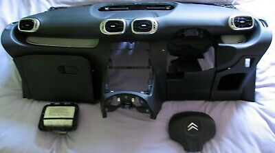 Citroen C3 Picasso 2009 - On Airbag Kit Dashboard Driver Passenger, Perfect Con • 299£