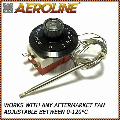 Aeroline® Capillary Thermostat Cooling Radiator Fan Control Switch 0-120°C • 15.95£