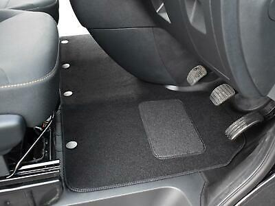 Tailored Fit 1 Piece Black Carpet Floor Mat Set For Renault Trafic (2014 On) • 17.99£