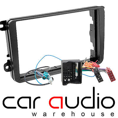 DFP-17-03 Car Stereo Double Din Fascia Fitting Kit Fit VW Transporter T5.1-09> • 13.95£