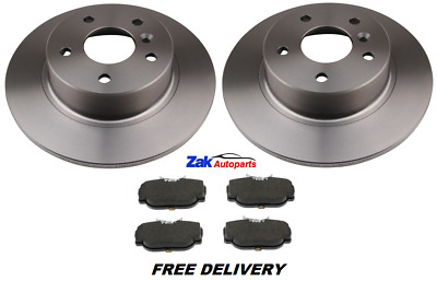 For Landrover Discovery (1998-2004) 2.5 Td5 2 Rear Brake Discs And Pads Set New • 51.37£