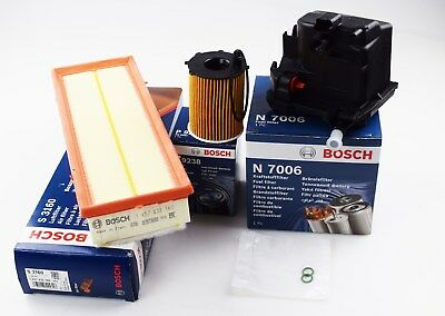 Bosch Citroen C3 C4 Picasso 1.6 Hdi Diesel Service Kit Oil Air Fuel Filters • 29.99£