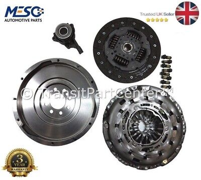 Oe Quality Solid Flywheel Clutch Csc Fits Ford Transit Mk7 2.4 6 Speed 2006-2014 • 249.95£