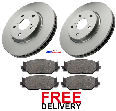 FOR LEXUS IS220 IS220d IS250 (2005-2011) FRONT 2 BRAKE DISCS & PADS SET *NEW*  • 64.70£