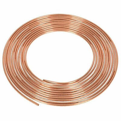 Copper Brake Pipe Roll (3/16 )   FREE DELIVERY • 11.99£