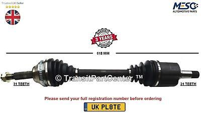Drive Shaft Fits For Land Rover Range Rover Evoque L538 2.0 2011 On Left Hand • 86.81£