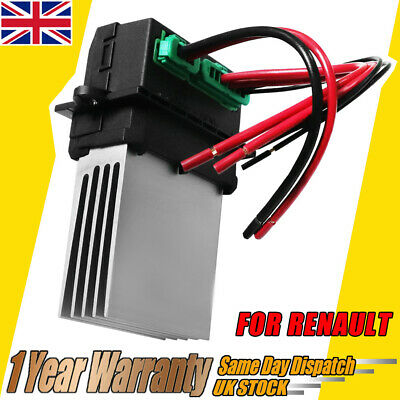Heater Blower Fan Resistor & Wiring Loom Fits Citroen Nissan Peugeot Renault • 16.59£