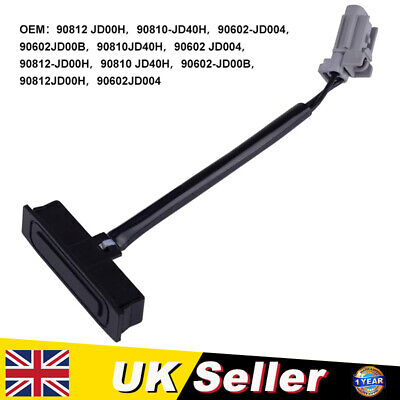 Boot Lid Tailgate Switch For NISSAN QASHQAI J10 90812 JD00H UK • 5.99£