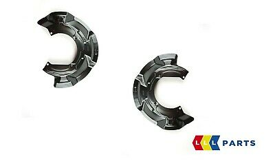 New Genuine Mini R55 R56 R58 R59 Front Disk Protection Plates Set Left And Right • 74.99£