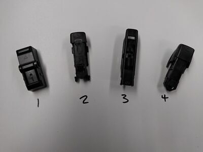 Bosch Wiper Adaptor Clips - Number 1,3 Or 4. Genuine Part. Free Post To UK. • 5£