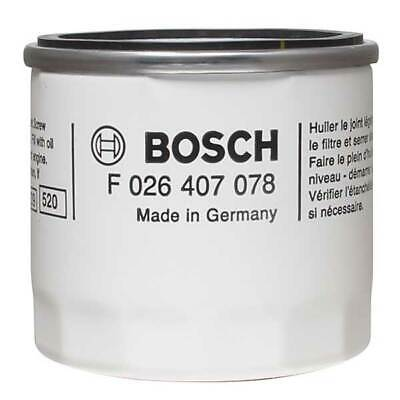 Bosch P7078 Oil Filter Spin On Fits Ford Fiesta 1.25 1.4 1.6 ST Petrol • 6.95£