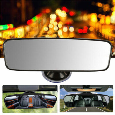 Wide Car Truck Universal Rear View Mirror Glass Suction Cup Stick On Interior • 4.99£