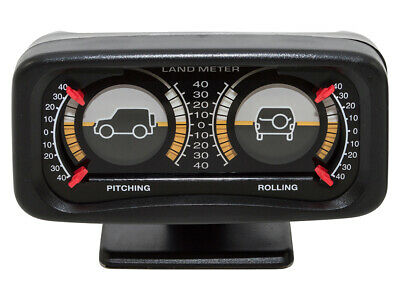 Land Rover Double Incline Land Meter - Dashboard Inclinometer -  DA1003  • 17.95£