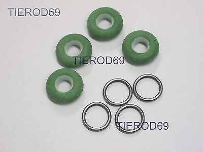 VW GOLF MK1 CABRIOLET GTI MK2 GTI 16V FUEL INJECTOR SEALS X 8 C933 • 8.49£