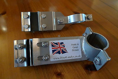 Full Kit - Exhaust Mountings Stainless Land Rover Series 2 2a 3 SWB 88 RHD 4 Cyl • 59.95£