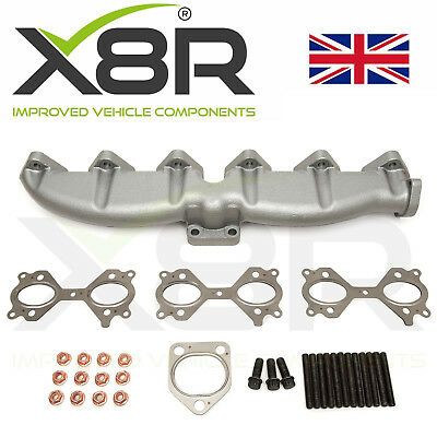 For BMW Cast Iron Exhaust Manifold E46 E39 E60 E61 E38 E65 E83 E53 3 5 7 X3 X5 • 64.95£