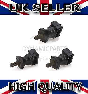3x Secondary Air Pump Retaining Mount Stop Buffer For Audi A3 Vw Golf Polo Caddy • 8.90£