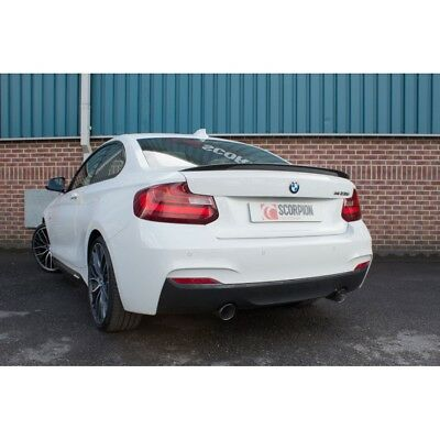 Scorpion Exhaust Cat-back System With Electronic Valves BMW 235i 14-16 • 740£
