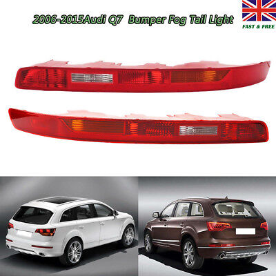 Pair REAR LOWER BUMPER TAIL LIGHT LAMP DRIVERS SIDE O/S RIGHT For AUDI Q7 06-15 • 49.50£