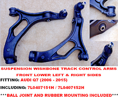 Audi Q7 Suv 2006-2015 Front Axle Lower Wishbone Suspension Arms • 94.66£