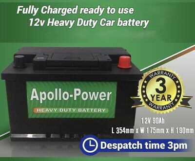 Replacement Battery FITS VW T5 2.5 Diesel 07  • 67.50£