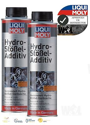 Liqui Moly Hydraulic Valve Lifter Oil Additive Treatment Petrol Diesel Engine 2x • 12.99£