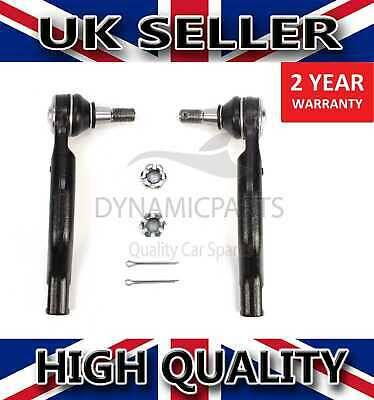 For Nissan Navara Np300 Pathfinder Tie Rod Ends Front Left / Right 48640ea01j • 16.75£