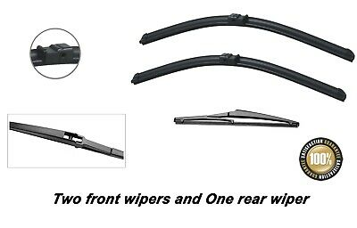 Ford Focus 2006-2010 Brand New Front And Rear Windscreen Wiper Blades 26 17 14  • 12.50£