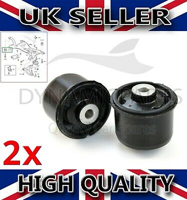 Rear Axle Mounting Bushes Suspension For Ford Fiesta Mk7 (2008-2017) • 19.75£