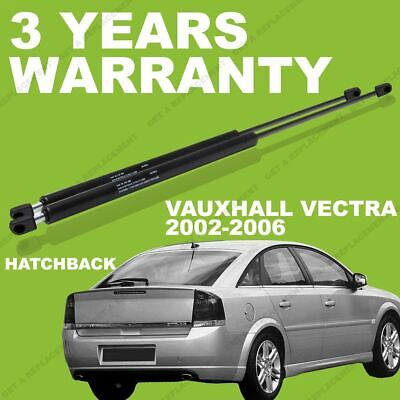 2x Gas Struts For Vauxhall Vectra 02-06 Hatchback Rear / Boot Tailgate 176608 • 11.34£